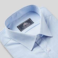 Load image into Gallery viewer, 9031-Rael-Brook-Classic-Fit-Blue-Pinstripe-Single-Cuff-Shirt-2