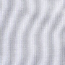 Load image into Gallery viewer, Rael Brook Classic Fit Grey Pinstripe Single Cuff Shirt Fabric