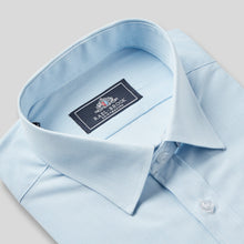 Load image into Gallery viewer, 9034-Rael-Brook-Classic-Fit-Light-Blue-Pinstripe-Single-Cuff-Shirt-2