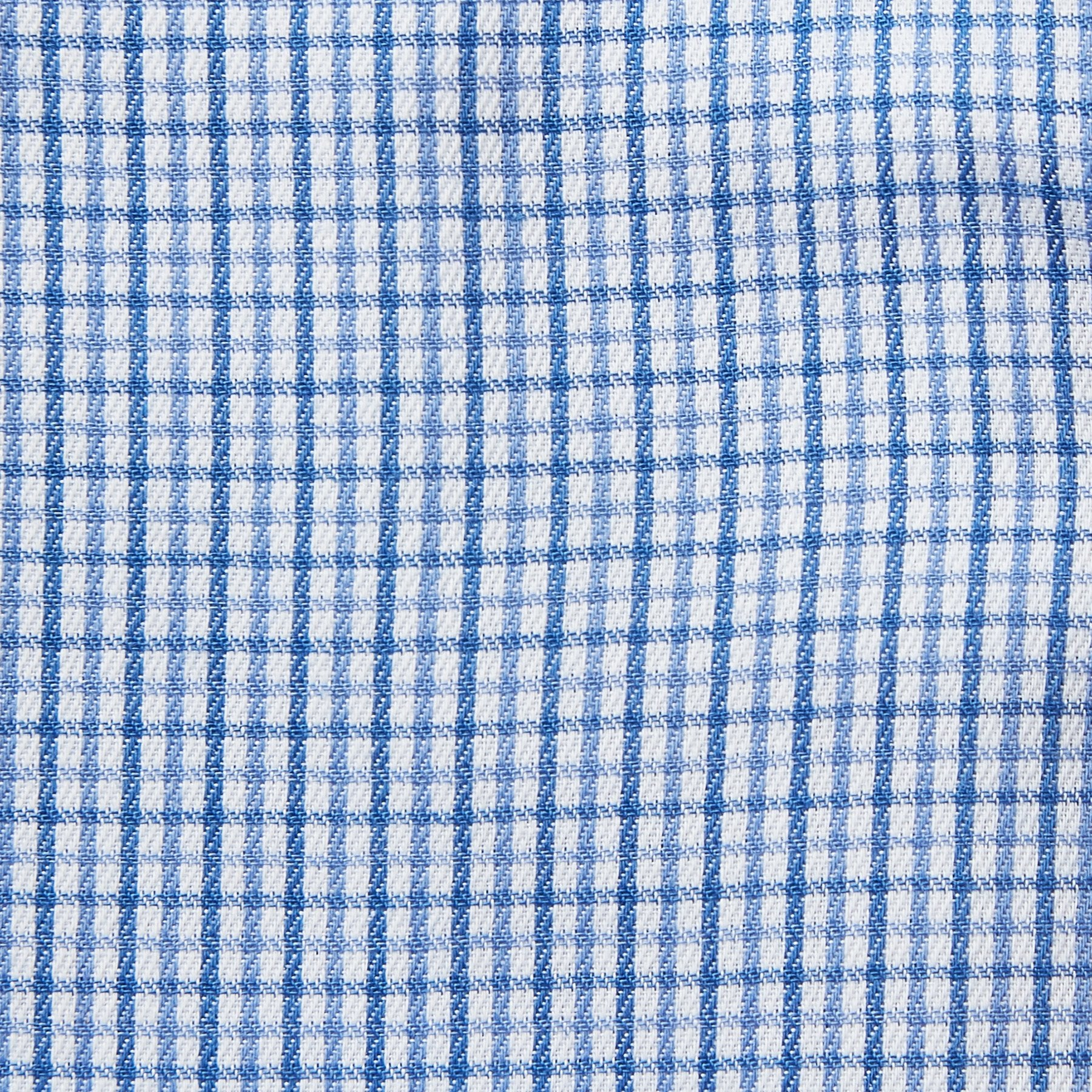 9041-Rael-Brook-Classic-Fit-Blue-Micro-Check-Single-Cuff-Shirt-4