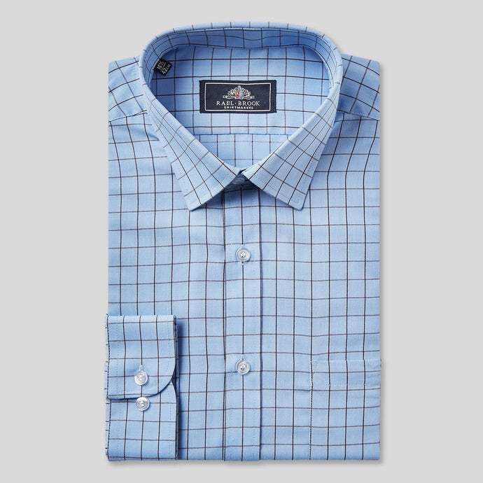 9062-Rael-Brook-Classic-Fit-Blue-Window-Pane-Check-Single-Cuff-Shirt-1