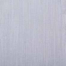 Load image into Gallery viewer, Rael Brook Tailored Fit Grey Pinstripe Single Cuff Shirt Fabric