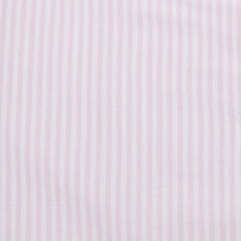 Load image into Gallery viewer, Rael Brook Tailored Fit Pink Candy Stripe Single Cuff Shirt Fabric