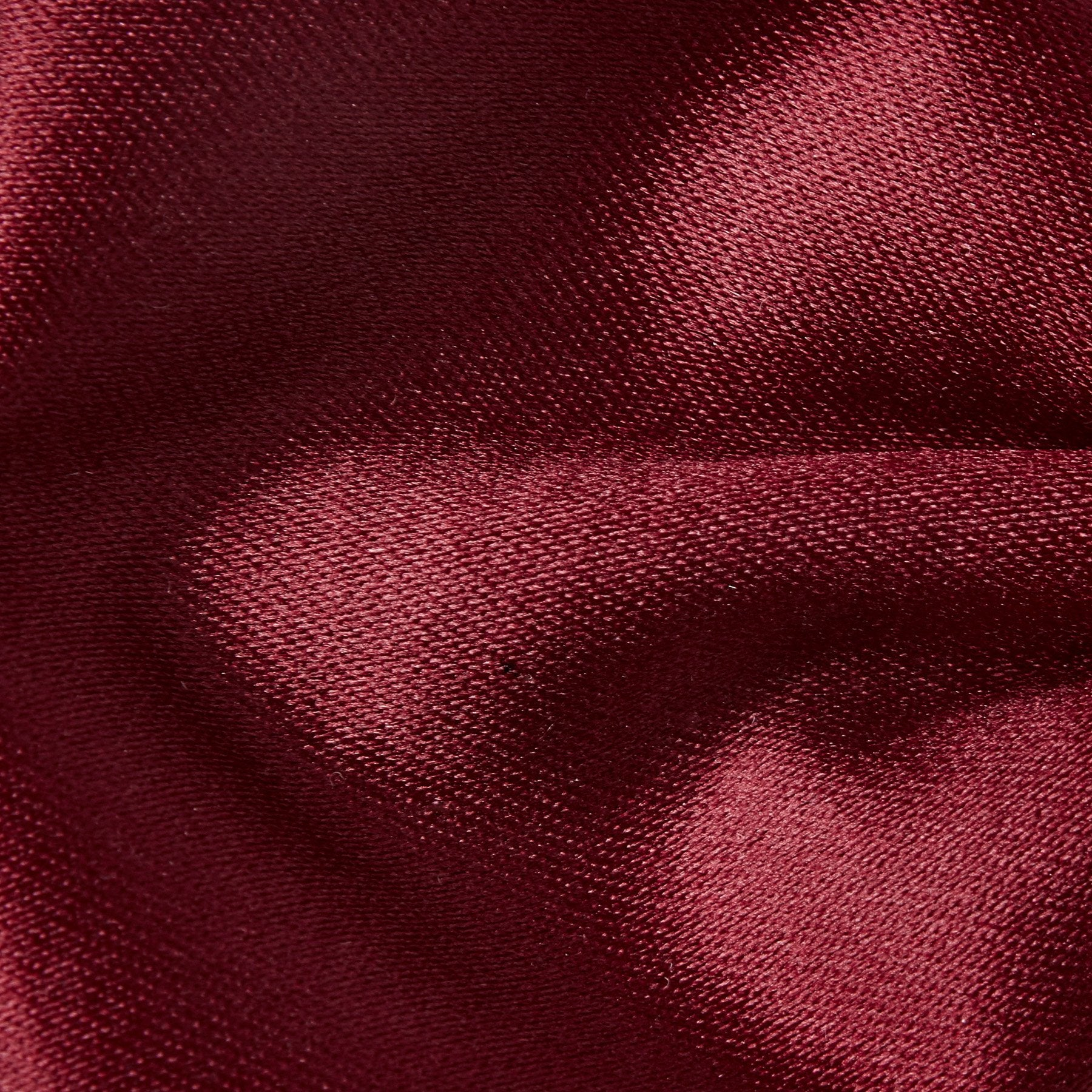 Folkespeare Burgundy Plain Satin Classic Bow Tie Fabric