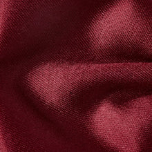 Load image into Gallery viewer, Folkespeare Burgundy Plain Satin Classic Bow Tie Fabric