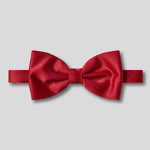 Load image into Gallery viewer, BK0030-05-Folkespeare-Wine-Plain-Satin-Classic-Bow-Tie-1