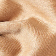 Load image into Gallery viewer, BK0030-12-Folkespeare-Beige-Plain-Satin-Classic-Bow-Tie-2