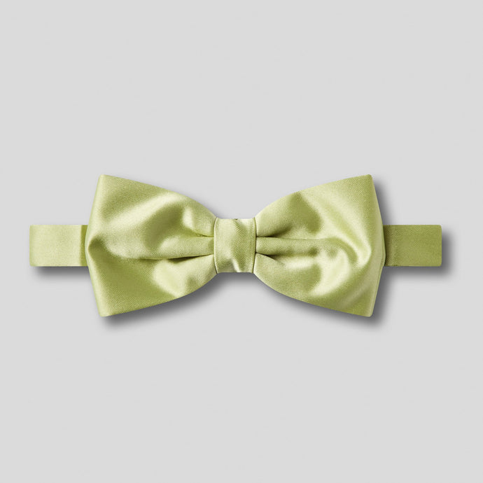 BK0030-44-Folkespeare-Avocado-Plain-Satin-Classic-Bow-Tie-1