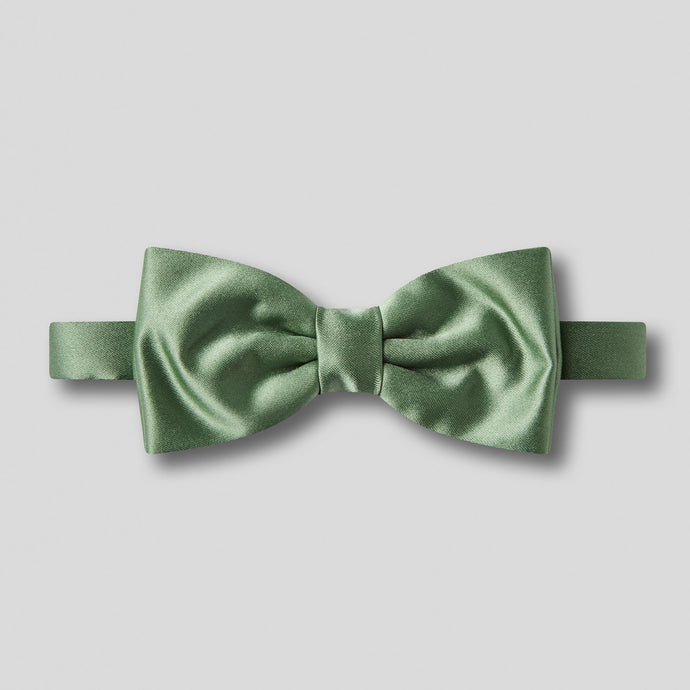 Folkespeare Leaf Plain Satin Classic Bow Tie