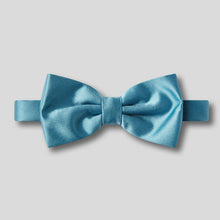 Load image into Gallery viewer, Folkespeare Airforce Plain Satin Classic Bow Tie
