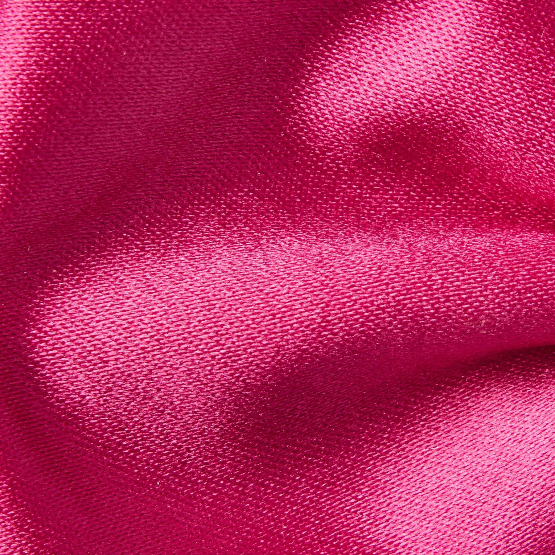 Folkespeare Cerise Plain Satin Classic Bow Tie Fabric