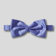 Load image into Gallery viewer, Folkespeare Violet Satin Classic Bow Tie