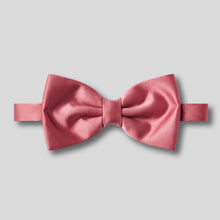Load image into Gallery viewer, Folkespeare Dusky Pink Satin Classic Bow Tie