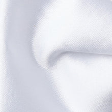 Load image into Gallery viewer, BN0030-08-Folkespeare-White-Plain-Satin-Narrow-Bow-Tie-2
