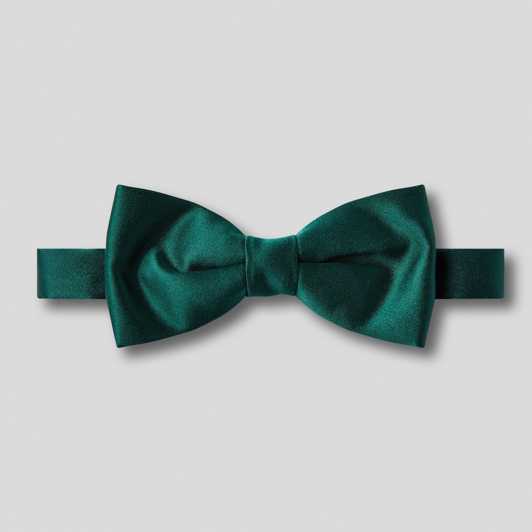 BN0030-09-Folkespeare-Bottle-Green-Plain-Satin-Narrow-Bow-Tie-1