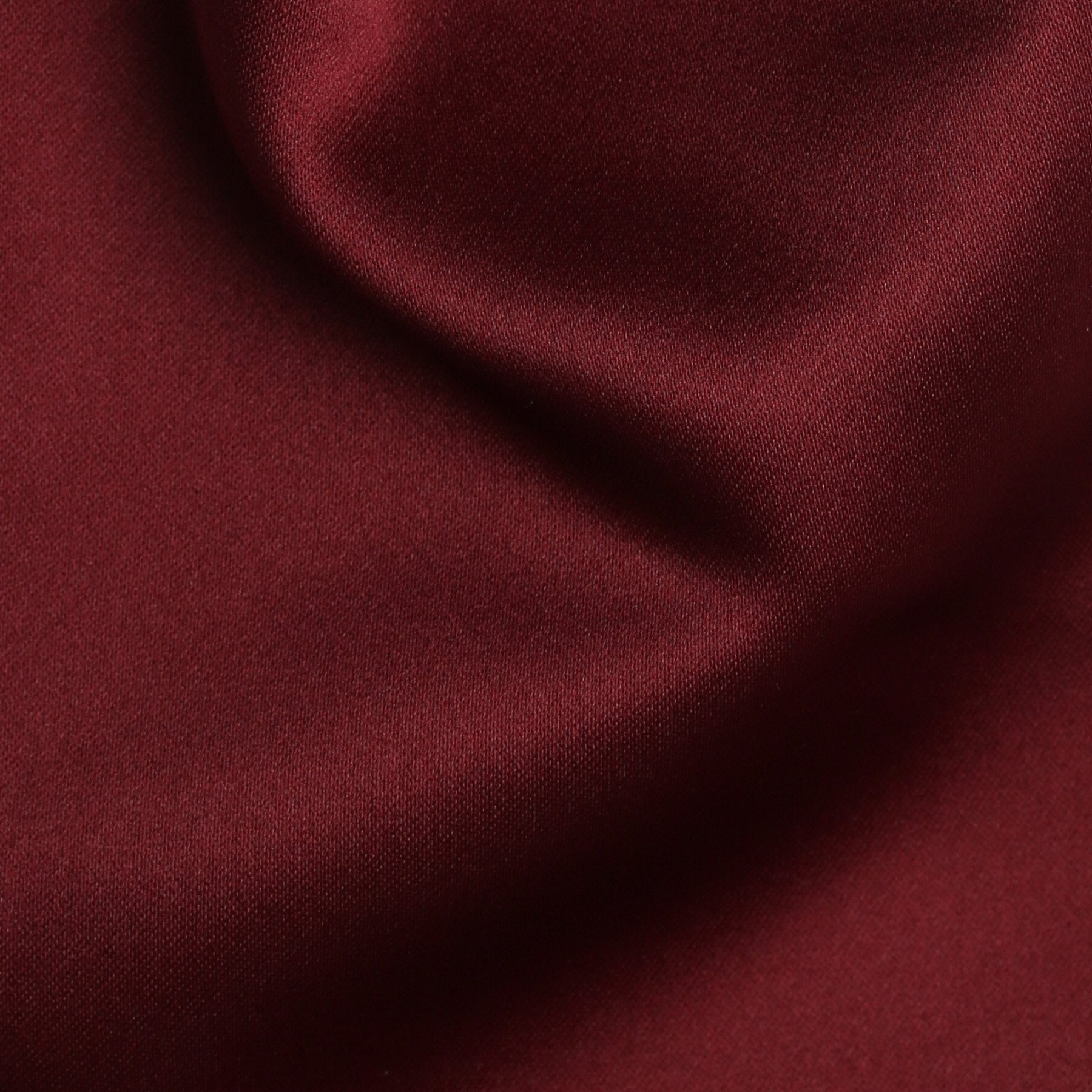 Folkespeare Burgundy Satin Scrunchie Cravat Fabric