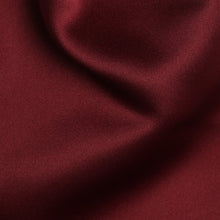 Load image into Gallery viewer, Folkespeare Burgundy Satin Scrunchie Cravat Fabric