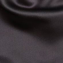 Load image into Gallery viewer, Folkespeare Dark Grey Satin Scrunchie Cravat Fabric
