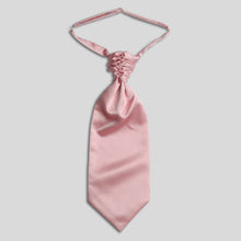 Load image into Gallery viewer, Folkespeare Pink Satin Scrunchie Cravat