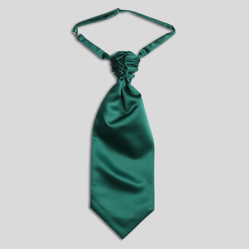 Folkespeare Forest Green Satin Scrunchie Cravat