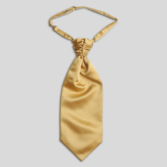 Folkespeare Gold Satin Scrunchie Cravat