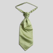 Load image into Gallery viewer, Folkespeare Avocado Satin Scrunchie Cravat