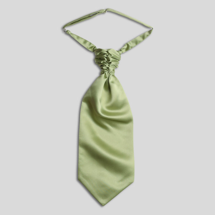 Folkespeare Avocado Satin Scrunchie Cravat