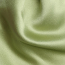Load image into Gallery viewer, Folkespeare Avocado Satin Scrunchie Cravat Fabric