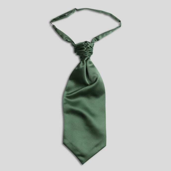 Folkespeare Leaf Satin Scrunchie Cravat