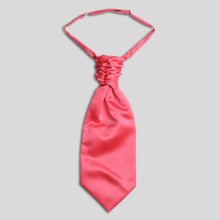 Load image into Gallery viewer, CS0030-49-Folkespeare-Coral-Satin-Scrunchie-Cravat-1