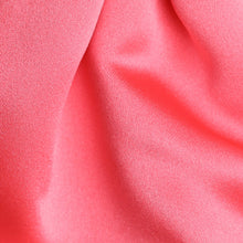 Load image into Gallery viewer, CS0030-49-Folkespeare-Coral-Satin-Scrunchie-Cravat-2