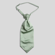 Load image into Gallery viewer, Folkespeare Sage Satin Scrunchie Cravat