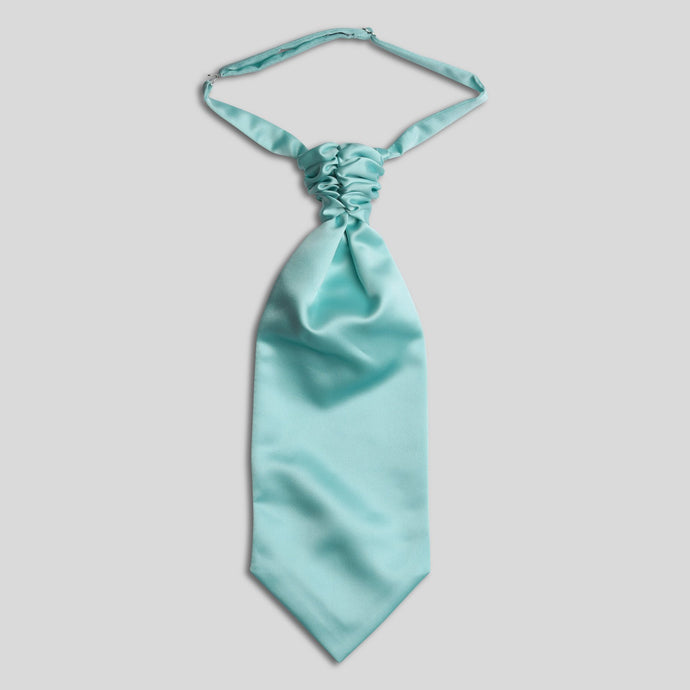 CS0030-52-Folkespeare-Aqua-Satin-Scrunchie-Cravat-1