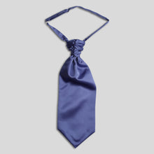 Load image into Gallery viewer, Folkespeare Violet Satin Scrunchie Cravat