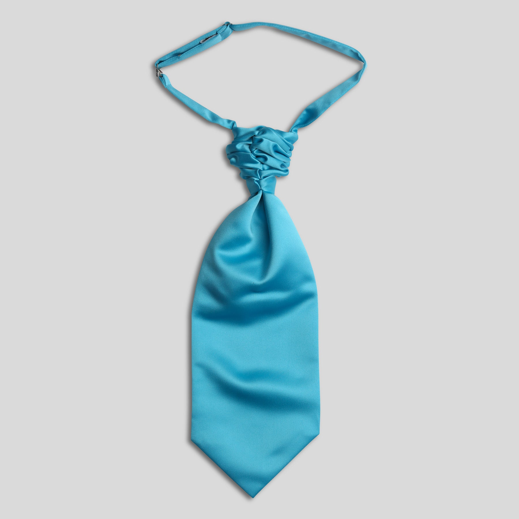 Folkespeare Turquoise Satin Pocket Square