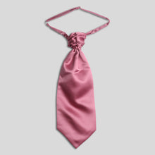 Load image into Gallery viewer, Folkespeare Dusky Pink Satin Scrunchie Cravat