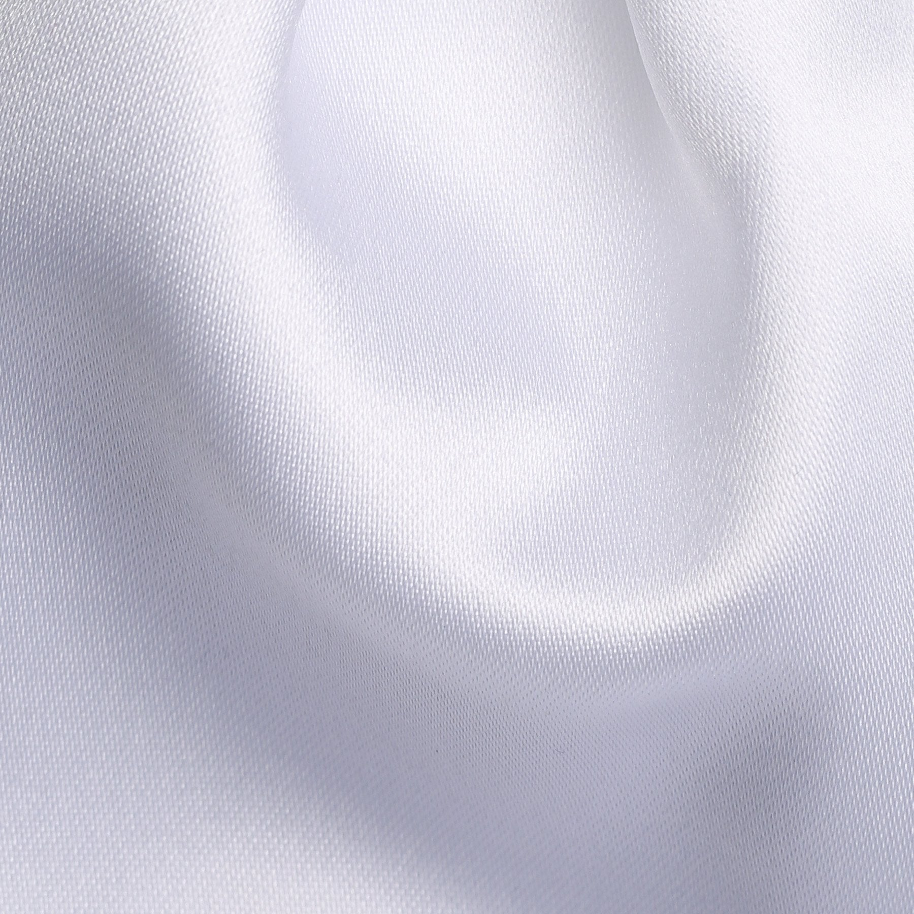 Folkespeare Boys White Satin Scrunchie Cravat Fabric