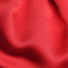 Load image into Gallery viewer, Folkespeare Boys Scarlet Red Satin Scrunchie Cravat Fabric