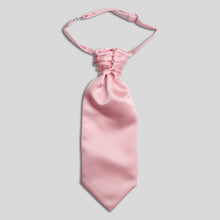 Load image into Gallery viewer, Folkespeare Boys Pink Satin Scrunchie Cravat