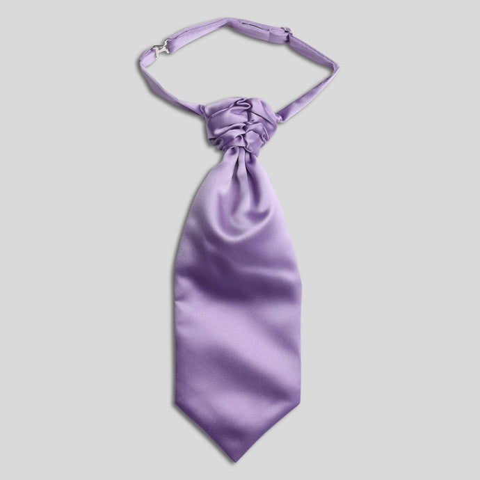 CS0030B-19-Folkespeare-Boys-Lilac-Satin-Scrunchie-Cravat-1