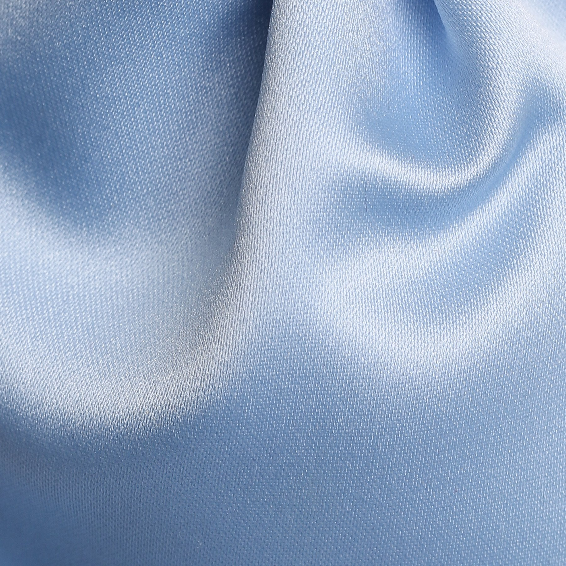 Folkespeare Boys Light Blue Satin Scrunchie Cravat Fabric