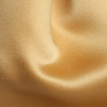 Load image into Gallery viewer, Folkespeare Boys Gold Satin Scrunchie Cravat Fabric
