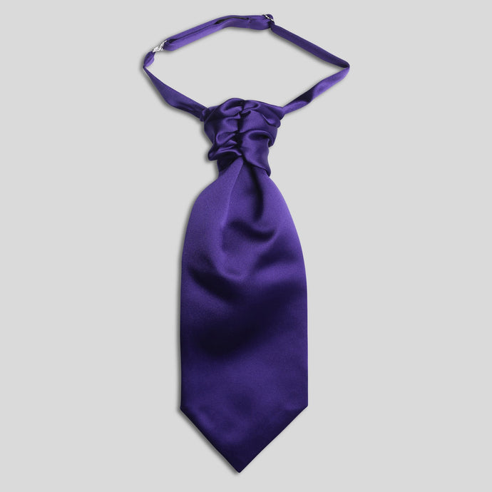 CS0030B-38-Folkespeare-Boys-Purple-Satin-Scrunchie-Cravat-1
