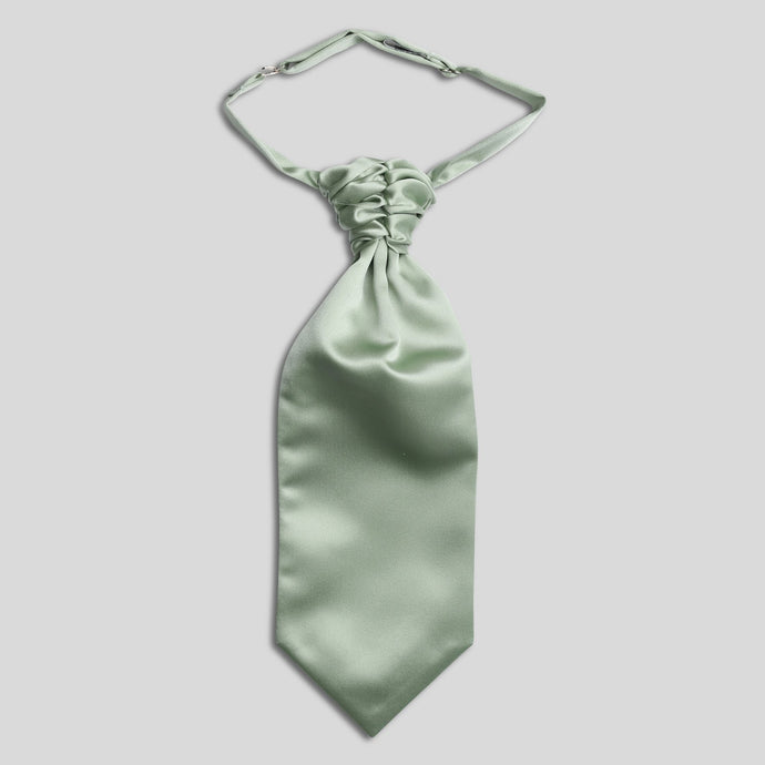 Folkespeare Boys Sage Satin Scrunchie Cravat