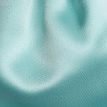 Load image into Gallery viewer, Folkespeare Boys Aqua Satin Scrunchie Cravat Fabric