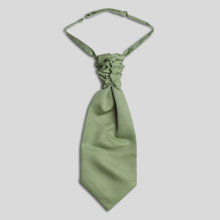 Load image into Gallery viewer, Folkespeare Sage Slub Scrunchie Cravat