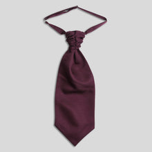 Load image into Gallery viewer, Folkespeare Maroon Slub Srunchie Cravat