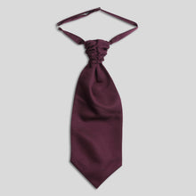 Load image into Gallery viewer, Folkespeare Maroon Slub Scrunchie Cravat