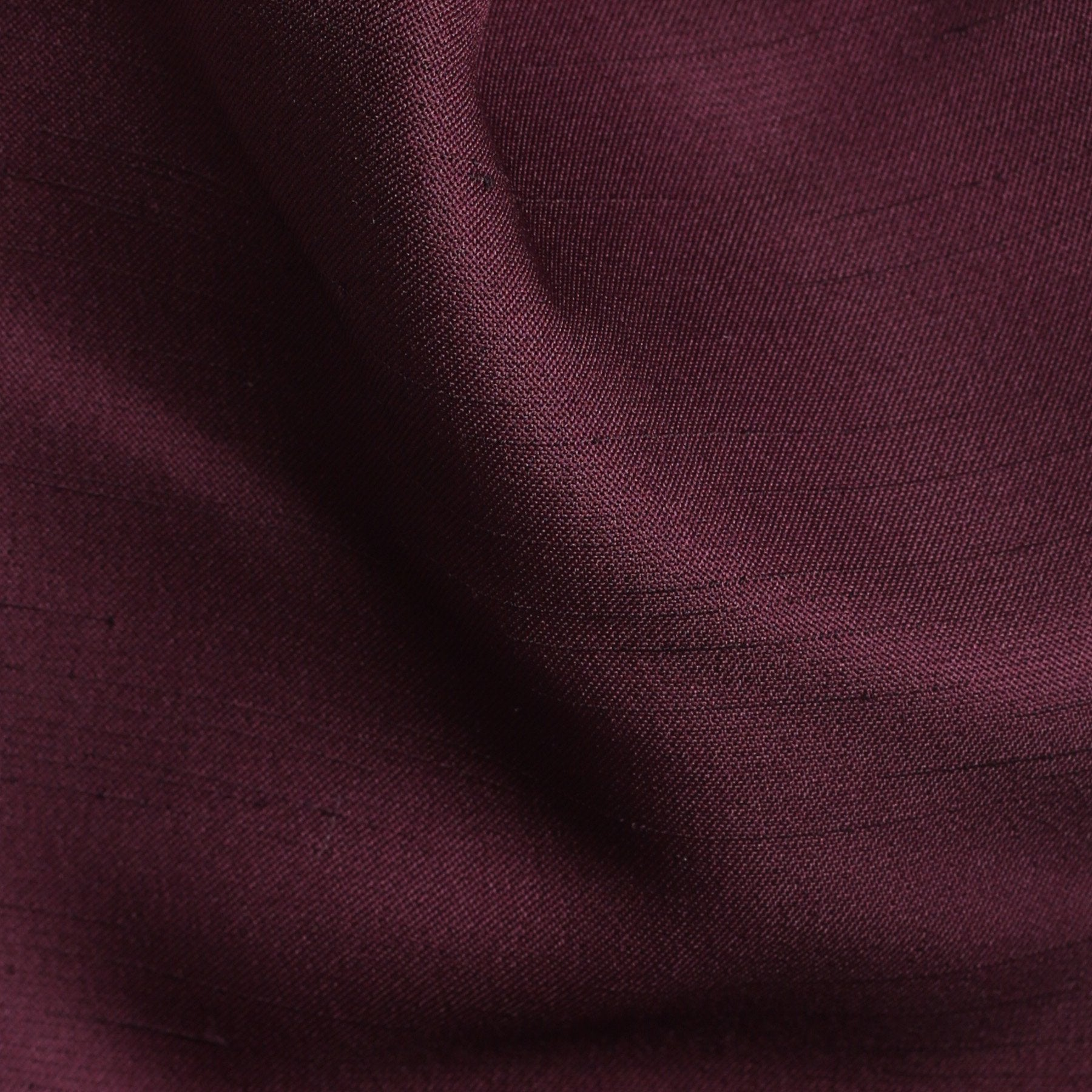 Folkespeare Maroon Slub Srunchie Cravat Fabric