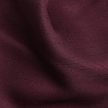 Load image into Gallery viewer, Folkespeare Maroon Slub Srunchie Cravat Fabric